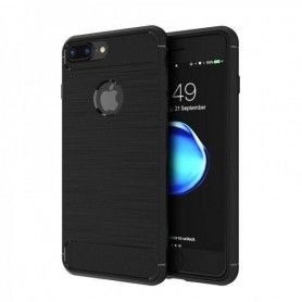 Husa Tpu Carbon pentru iPhone 7 / 8 , Neagra  - 1