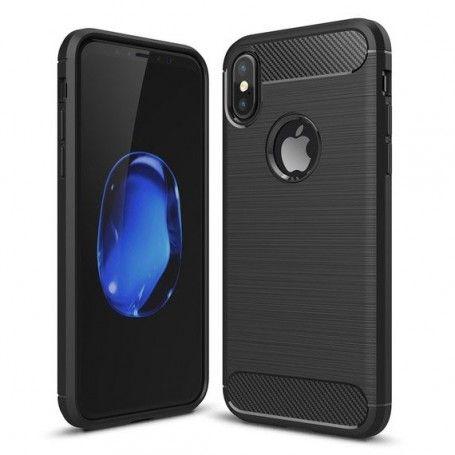 Husa Tpu Carbon pentru iPhone X / XS , Neagra la pret imbatabile de 29,00lei , intra pe PrimeShop.ro.ro si convinge-te singur
