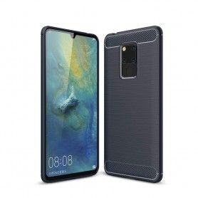 Husa Tpu Carbon pentru Huawei Mate 20 , Midnight Blue  - 1