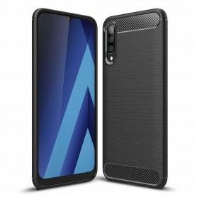 Husa Tpu Carbon pentru Samsung Galaxy A30s / A50 / A50s , Neagra  - 1