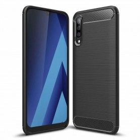 Husa Tpu Carbon pentru Samsung Galaxy A70 , Neagra  - 1