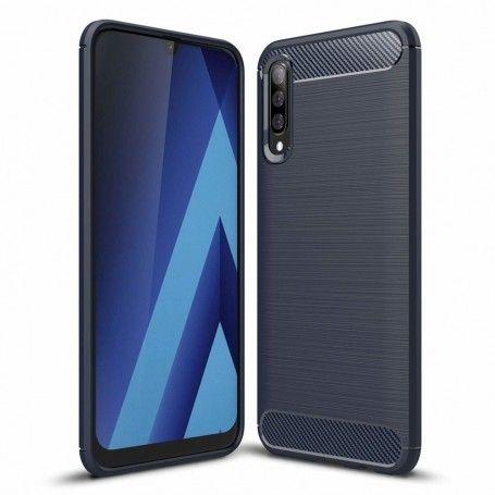 Husa Tpu Carbon pentru Samsung Galaxy A70 , Midnight Blue la pret imbatabile de 42,00LEI , intra pe PrimeShop.ro.ro si convinge-te singur