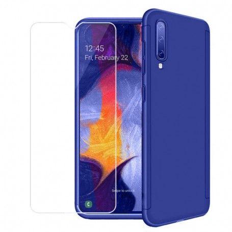 Husa 360 Protectie Totala Fata Spate pentru Samsung Galaxy A30s / A50 / A50s , Dark Blue la pret imbatabile de 49,00LEI , intra pe PrimeShop.ro.ro si convinge-te singur