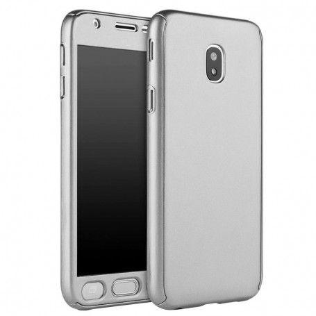 Husa 360 Protectie Totala Fata Spate pentru Samsung Galaxy J5 (2017) J530, Argintie la pret imbatabile de 45,00lei , intra pe PrimeShop.ro.ro si convinge-te singur