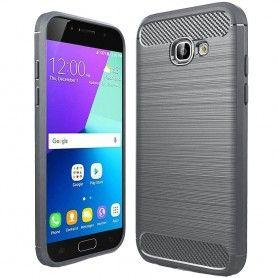 Husa Tpu Carbon pentru Samsung Galaxy A5 (2017) - A520 , Gri  - 1