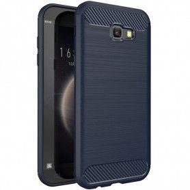 Husa Tpu Carbon pentru Samsung Galaxy A5 (2017) - A520 , Midnight Blue  - 1