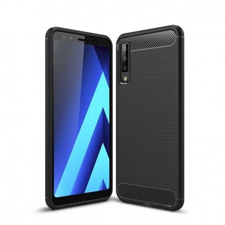 Husa Tpu Carbon pentru Samsung Galaxy A7 (2018), Neagra la pret imbatabile de 31,99lei , intra pe PrimeShop.ro.ro si convinge-te singur