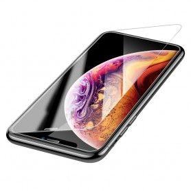 Folie de protectie ecran Baseus pentru iPhone 11 / iPhone XR , Sticla Securizata 0.3mm, Acoperire Completa, Transparenta  - 1
