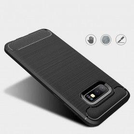 Husa Tpu Carbon pentru Samsung Galaxy S10e, Midnight Blue  - 4
