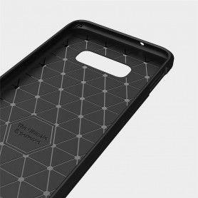 Husa Tpu Carbon pentru Samsung Galaxy S10e, Midnight Blue  - 6