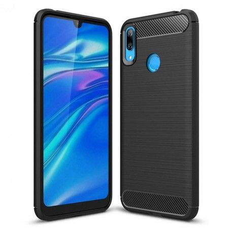 Husa Tpu Carbon pentru Huawei Y7 (2019), Neagra la pret imbatabile de 36,90lei , intra pe PrimeShop.ro.ro si convinge-te singur