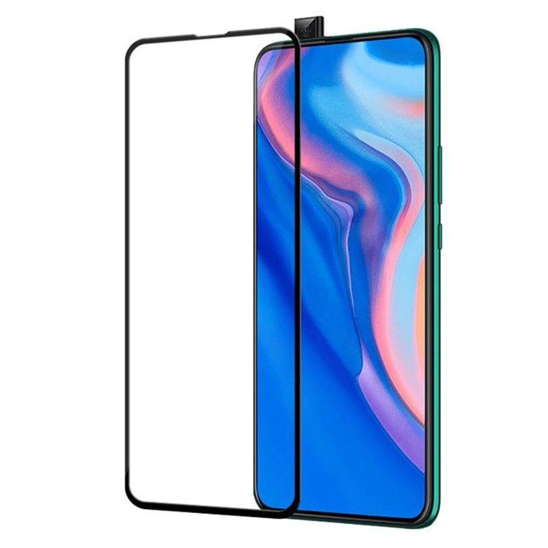 Folie Protectie Ecran pentru Huawei P Smart Z / Y9 Prime (2019), Sticla securizata 0.3mm, Negru - 2