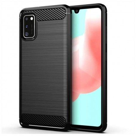 Husa Tpu Carbon Fibre pentru Samsung Galaxy A41, Neagra la pret imbatabile de 35,00lei , intra pe PrimeShop.ro.ro si convinge-te singur