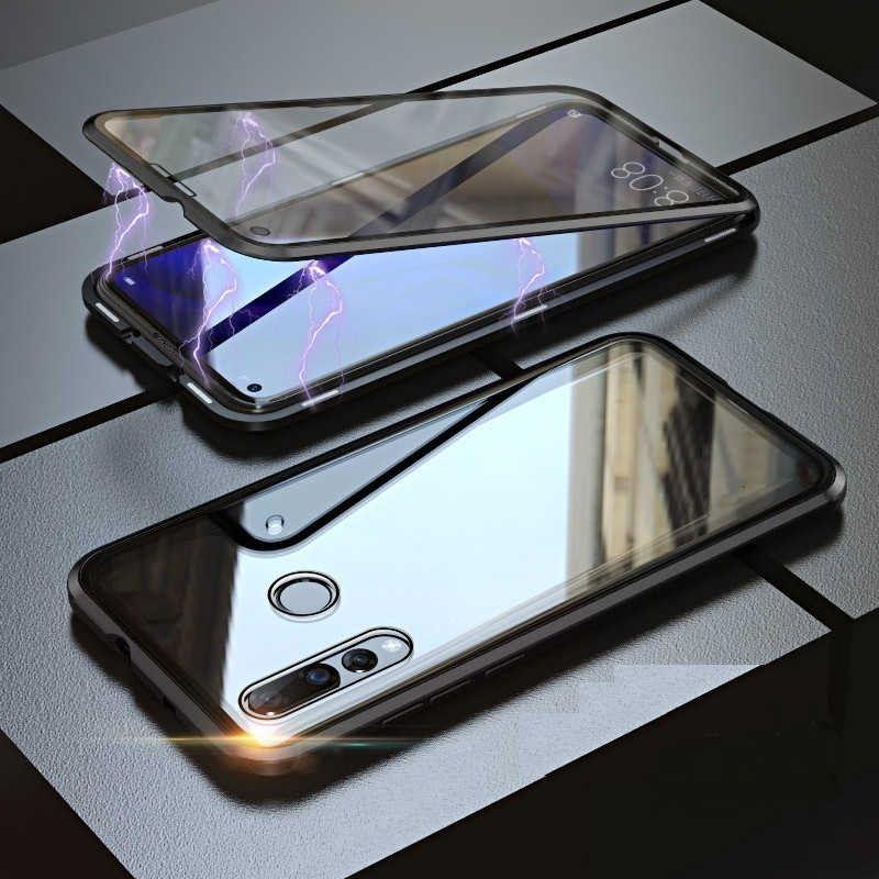 Husa Magnetica 360 cu sticla fata spate, pentru Huawei P Smart Z / Huawei Y9 Prime (2019)