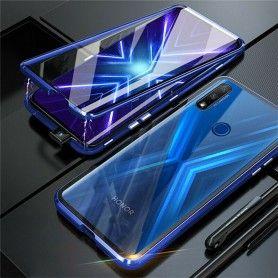 Husa Magnetica 360 cu sticla fata spate, pentru Huawei P Smart Z / Huawei Y9 Prime (2019)  - 2