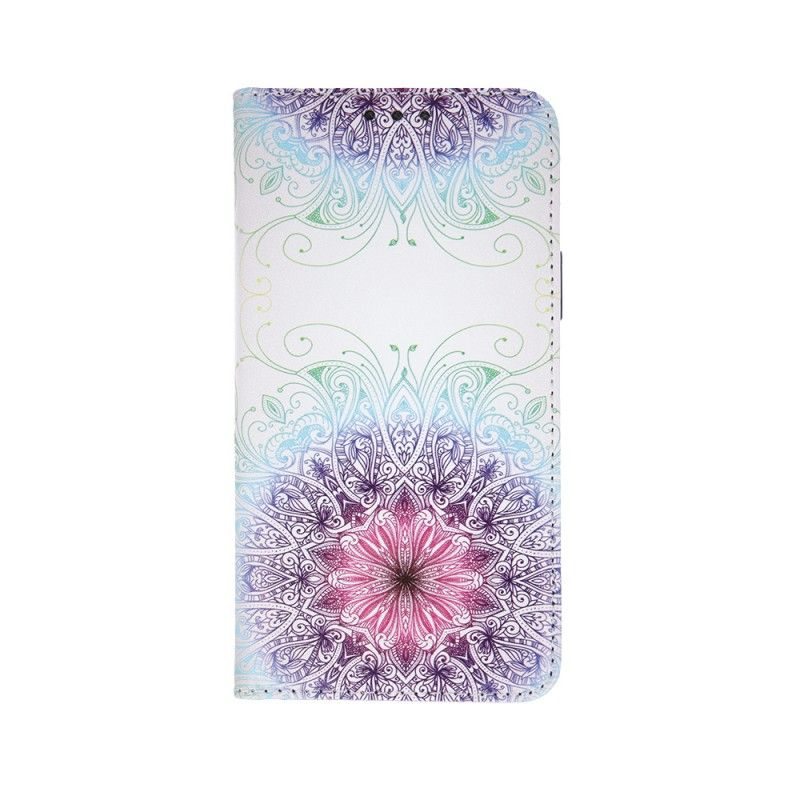 Husa Flip tip Carte Trendy Ornament pentru Samsung Galaxy A51  - 1