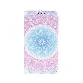 Husa Flip tip Carte Trendy Rosette pentru Samsung Galaxy A51  - 1