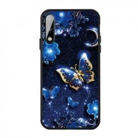 Husa Huawei P40 Lite E / Huawei Y7p - Tpu , Butterfly Design  - 1
