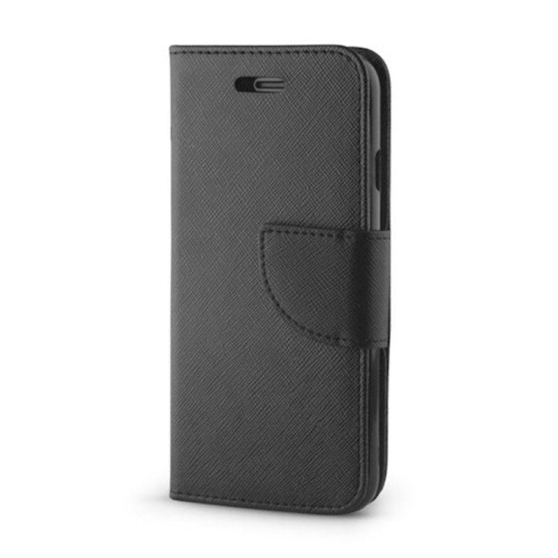 Husa Flip tip Carte Fancy pentru Samsung Galaxy A10, Negru  - 1