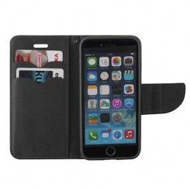 Husa Flip tip Carte Fancy pentru Samsung Galaxy A10, Negru  - 2