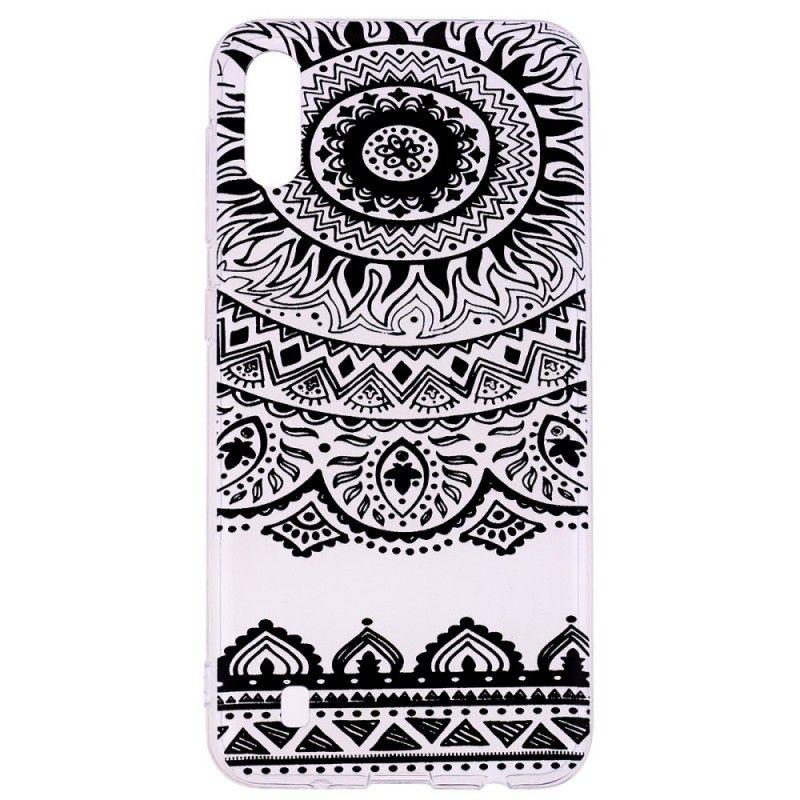 Husa Samsung A10 - Tpu , Black Mandala Design  - 1