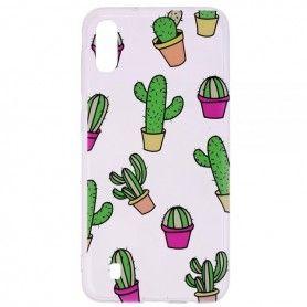 Husa Samsung A10 - Tpu , Cactus Design  - 1