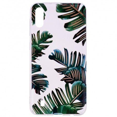 Husa Samsung A10 - Tpu , Leaves Design la pret imbatabile de 29,00lei , intra pe PrimeShop.ro.ro si convinge-te singur
