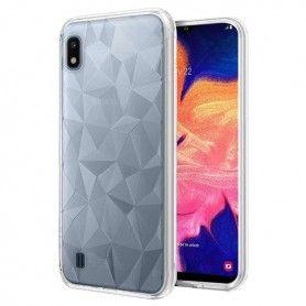 Husa Samsung A10 - Tpu , Prism Transparenta  - 1