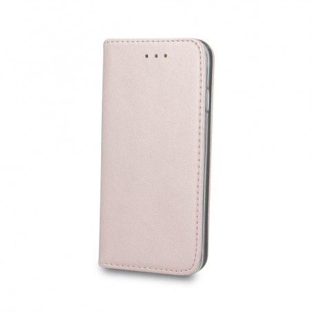 Husa Flip tip Carte Smart Piele Eco, pentru Samsung Galaxy A10, Roz / Auriu la pret imbatabile de 39,00lei , intra pe PrimeShop.ro.ro si convinge-te singur