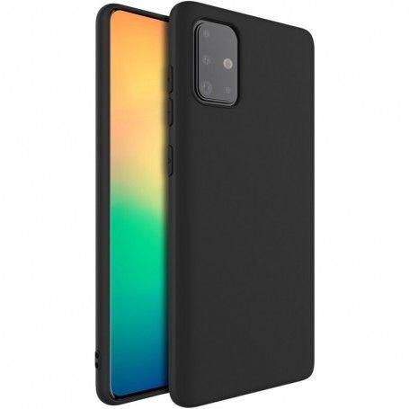 Husa Samsung Galaxy A51 - Imak Soft Silicon , Neagra la pret imbatabile de 39,00lei , intra pe PrimeShop.ro.ro si convinge-te singur