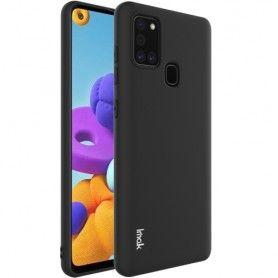 Husa Samsung Galaxy A21s - Imak Soft Silicon , Neagra  - 1