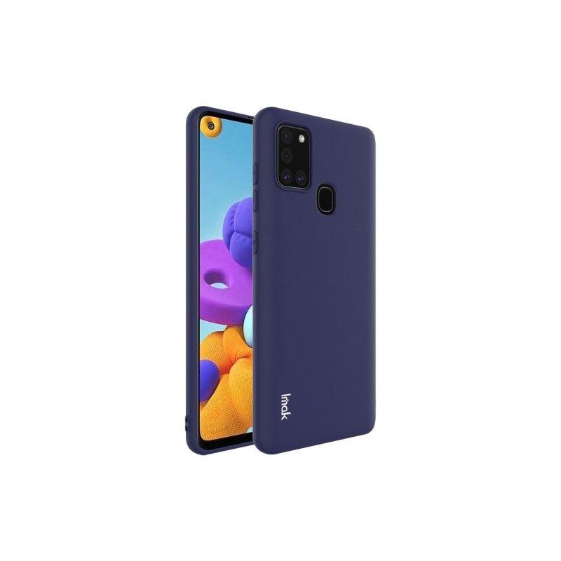 Husa Samsung Galaxy A21s - Imak Soft Silicon , Dark Blue  - 1