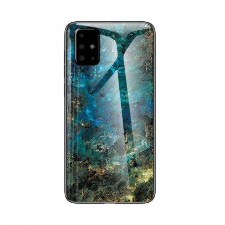 Husa Samsung Galaxy S10 Lite / Galaxy A91 - Gradient Glass, Marble Smarald la pret imbatabile de 43,99lei , intra pe PrimeShop.ro.ro si convinge-te singur