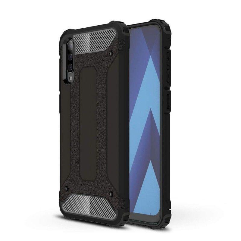 Husa Tpu Hybrid Armor pentru Samsung Galaxy A70 , Neagra  - 1