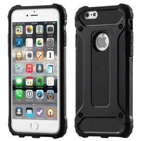 Husa Tpu Hybrid Armor pentru iPhone 7 , Neagra  - 1