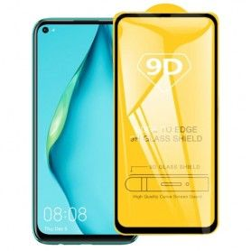 Folie Protectie Ecran pentru Huawei Nova 5T, Sticla securizata, Negru  - 1