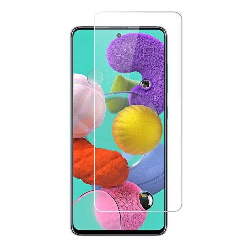 Folie Protectie Ecran Galaxy A71-  Flexible Nano Glass 9H - Transparenta  - 1