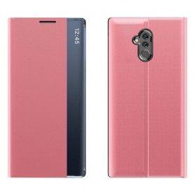 Husa Huawei Mate 20 Lite - Flip Tip Carte Smart View Stand  - 2