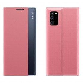 Husa pentru Samsung A51 - Flip Tip Carte Smart View Stand  - 9