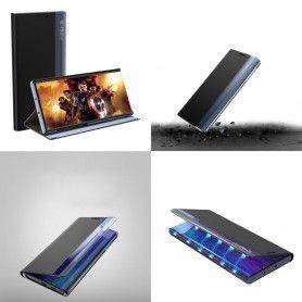 Husa pentru Samsung A10 - Flip Tip Carte Smart View Stand  - 2
