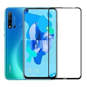Folie Protectie Ecran pentru Huawei P20 Lite (2019), Sticla securizata, 3D 0.33mm, Negru  - 1