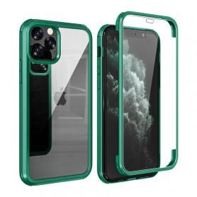 Husa iPhone X / XS - Protectie 360 grade Prime cu Sticla fata + spate  - 8
