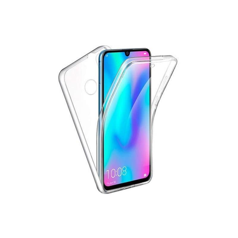 Husa Huawei P Smart (2019) - Silicon Tpu Full 360 ( Fata+Spate) , transparenta  - 1