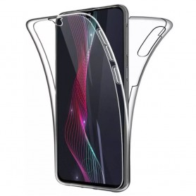 Husa Samsung Galaxy A40 - Silicon Tpu Full 360 ( Fata+Spate) , transparenta  - 1