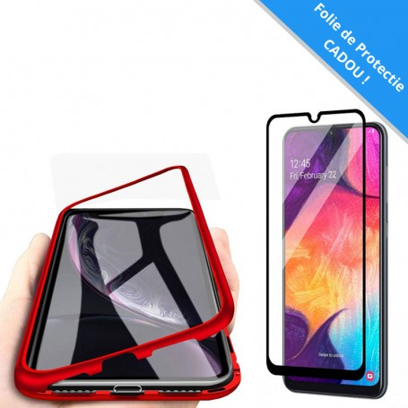 Set: Husa Samsung Galaxy A10 - Magnetica Rosie + Folie de protectie ecran Cadou la pret imbatabile de 59,00lei , intra pe PrimeShop.ro.ro si convinge-te singur
