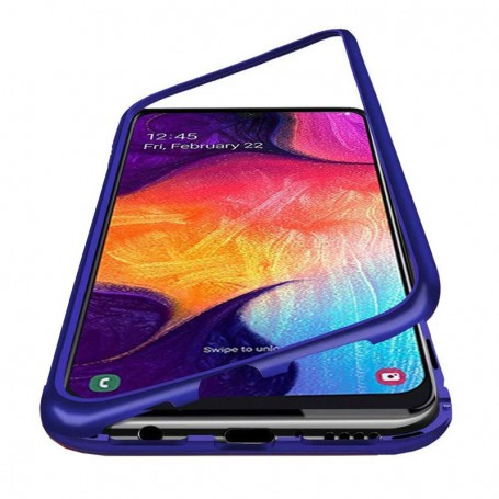 Husa Samsung Galaxy A51 -  Magnetica cu bumper din aluminiu si spate din sticla la pret imbatabile de 39,99lei , intra pe PrimeShop.ro.ro si convinge-te singur