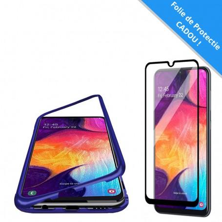 Set: Husa Samsung Galaxy A71 - Magnetica Albastra + Folie de protectie ecran Cadou la pret imbatabile de 59,00lei , intra pe PrimeShop.ro.ro si convinge-te singur