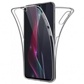 Husa Samsung Galaxy A70 - Silicon Tpu Full 360 ( Fata+Spate) , transparenta  - 1