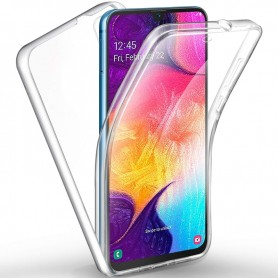 Husa Samsung Galaxy A71 - Silicon Tpu Full 360 ( Fata+Spate) , transparenta  - 1