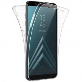 Husa Samsung Galaxy J4+ Plus (2018) - Silicon Tpu Full 360 ( Fata+Spate) , transparenta  - 1